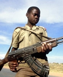 We should NOT be using violent means to fix the issue of child soldiers.